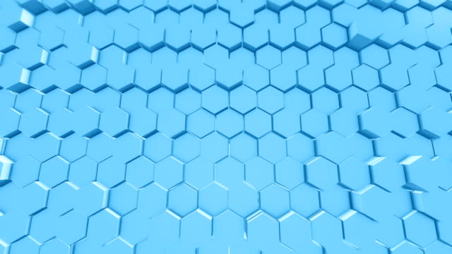 Abstract Hexagon Geometric Backgrounds Surface Loopable 4K
