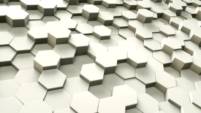 Abstract Hexagon Geometric Surface | Loopable