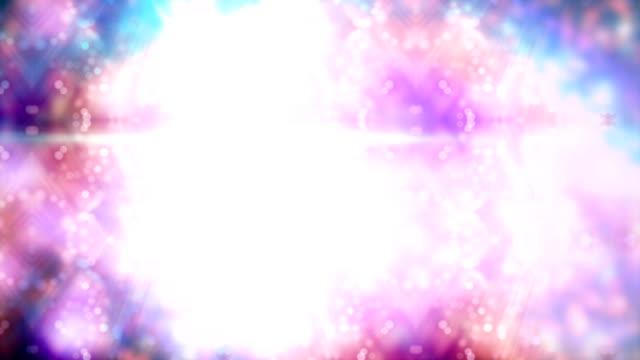 Fundo abstrato hexágonos - vídeo