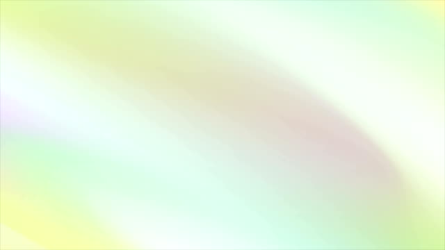 vídeos de stock e filmes b-roll de abstract holographic soft gradient stripes video animation - suavidade