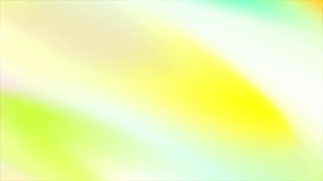 抽象的なホログラフィック柔らかいグラデーション ストライプ ビデオ アニメーション - 玉虫色点の映像素材/bロール