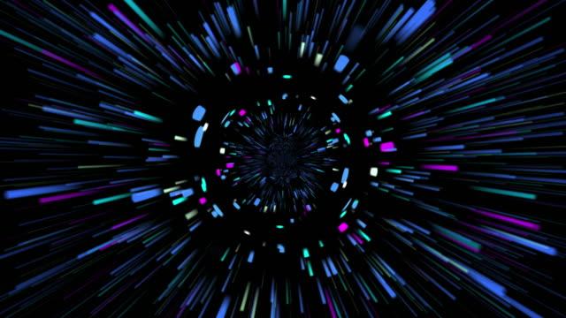stockvideo's en b-roll-footage met abstracte hyper snelheid illustratie overlay motion achtergrond, digitale toekomsttechnologie grafische animatie 4k 3840 × 2160 videobeelden. - blue sky