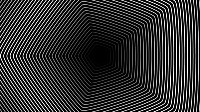 Abstract hypnotic background video