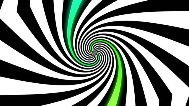 抽象的なイリュー ジョン - トンネルの背景 - 玉虫色点の映像素材/bロール