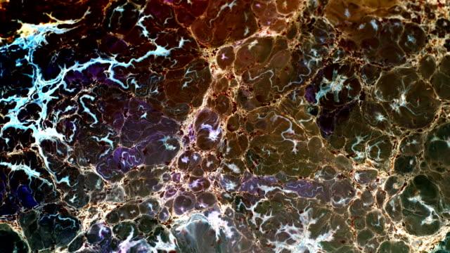 soyut mürekkep boya hareketi patlama ve sütlü sıvı element spread - organik stok videoları ve detay görüntü çekimi