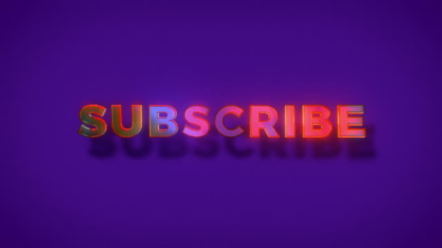abstract inscription subscribe invitation word - newsletter video stock e b–roll