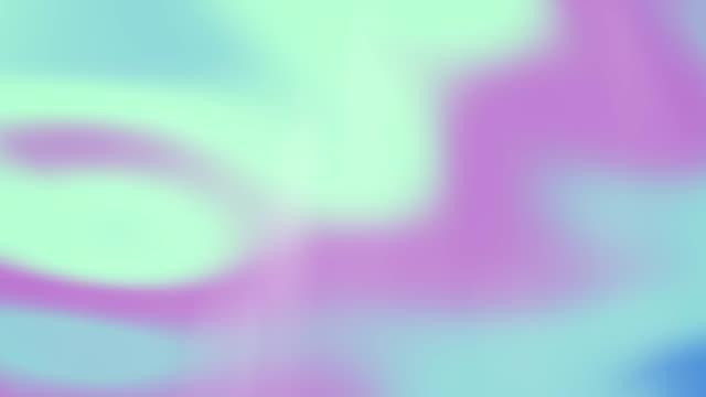abstrakt irisierenden hintergrund - holografisch stock-videos und b-roll-filmmaterial