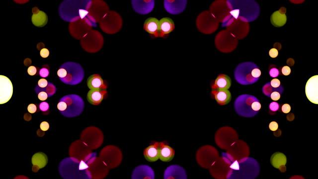 Abstract kaleidoscope animation video