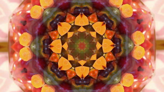 Abstract Kaleidoscope Backdrop video