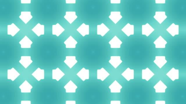 Abstract kaleidoscope background animation video