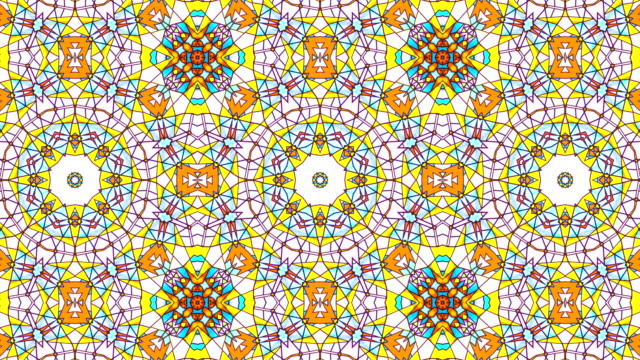 Abstract Kaleidoscope Abstract Kaleidoscope printmaking technique stock videos & royalty-free footage