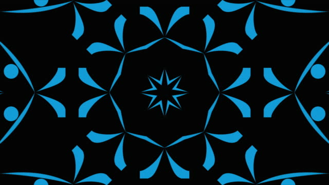 Abstract kaleidoscopic background patterns. Motion graphic:Abstract kaleidoscopic background patterns floral pattern stock videos & royalty-free footage
