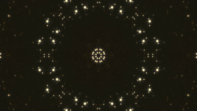 abstract kaleidoscopic light background - 7 star stock videos and b-roll footage