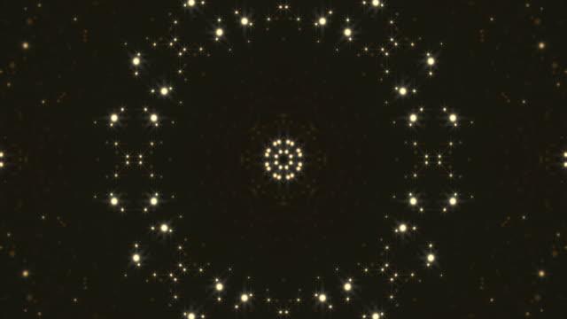 Abstract Kaleidoscopic Light Background video