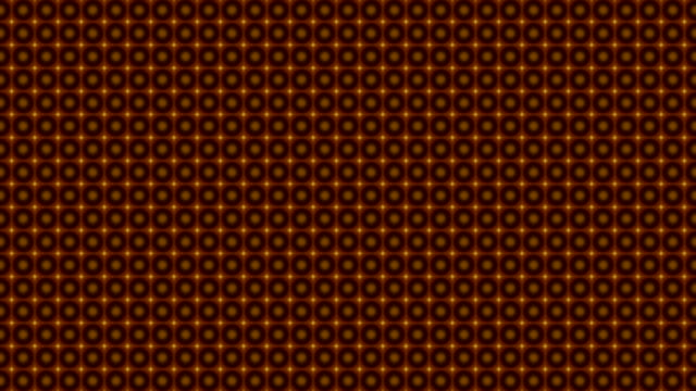 Abstract kaleidoscopic pattern in brown colors. video