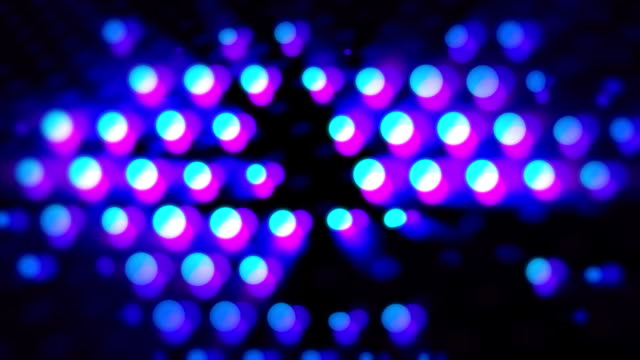 Abstract LED background, half tone video