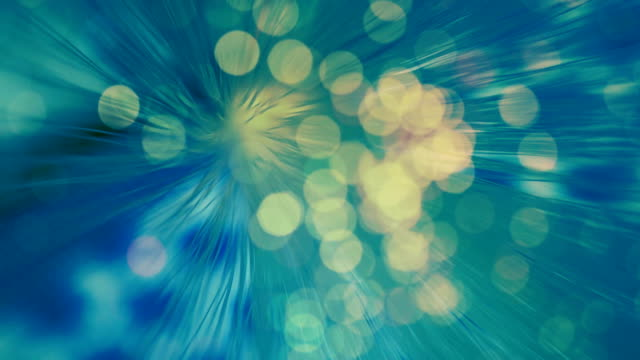 BLUE abstract light background video