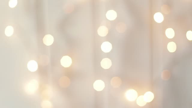 Abstract light bokeh background. Winter holidays background
