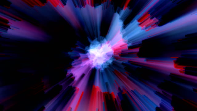 Abstract Light Effects Background, Loopable video