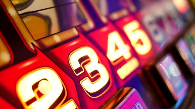4k abstract light in casino, london - gioco d'azzardo video stock e b–roll