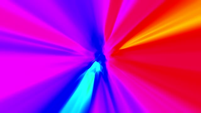 abstract light rays motion colorful background loop multicolored - video