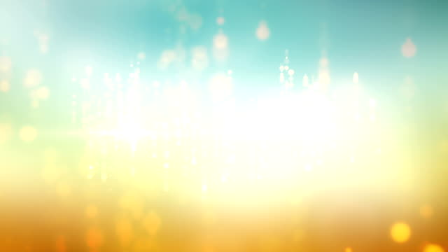 Abstract Lights Background Animation With Lens Flares video
