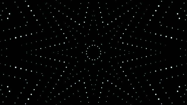 фон абстрактный свет - узор калейдоскоп стоковые видео и кадры b-roll