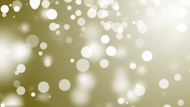 Abstract Lights bokeh Gold background video