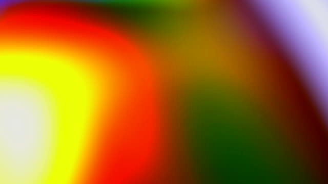 Abstract lights out of focus video