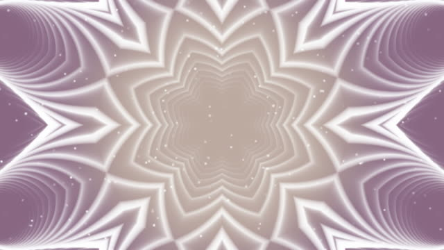 абстрактная линия фиолетовой симметричной петли backgroud - ramadan kareem стоковые видео и кадры b-roll