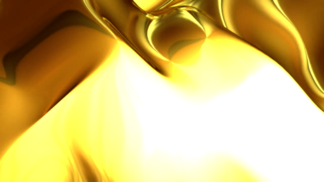 Abstract Loop Gold Background Hd Stock Video Download