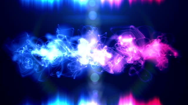 Abstract loopable background in blue and purple pink video