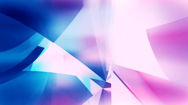 абстрактный петли фона - кристалл стоковые видео и кадры b-roll