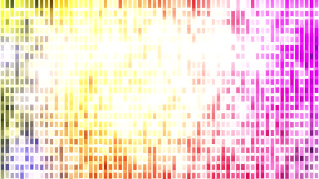 Abstract loopable mosaic background video