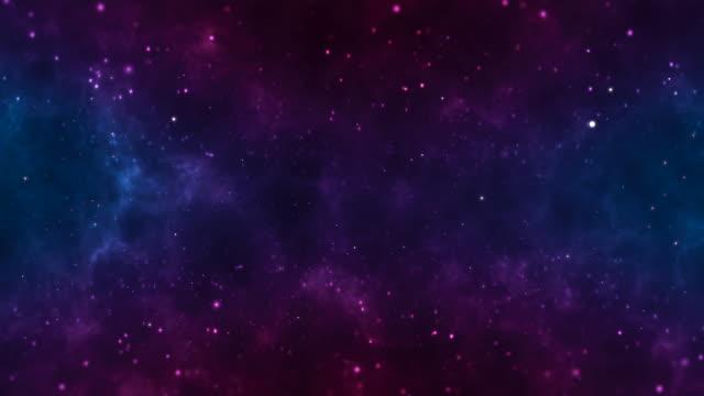 astratto loopable viola e viola ondulato movimento sfondo 4k animazione - copy space video stock e b–roll
