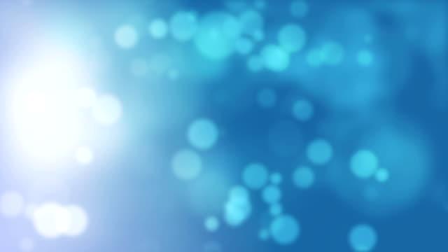 Abstracte loopbare zachte deeltjes achtergrond video