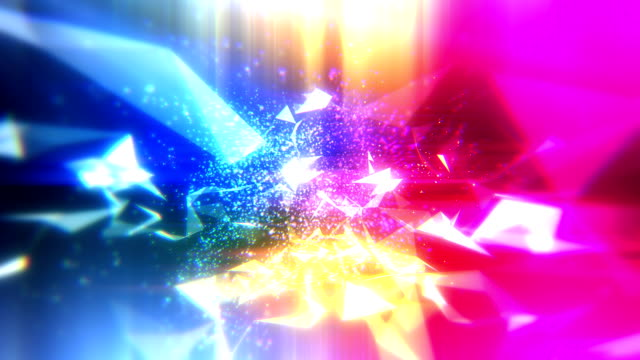 Abstract loopable technology background video
