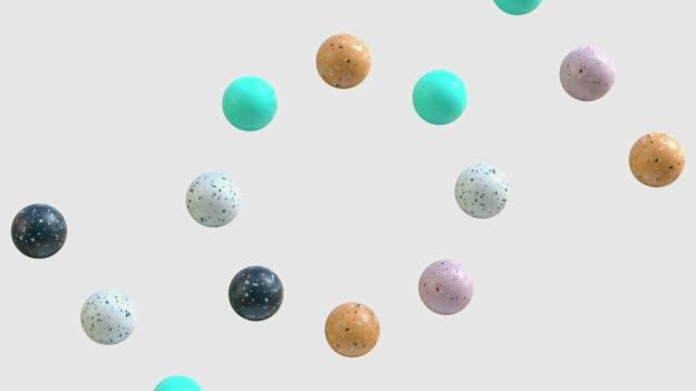 vídeos y material grabado en eventos de stock de forma abstracta de mármol 3d renderización gráfico de movimiento - forma