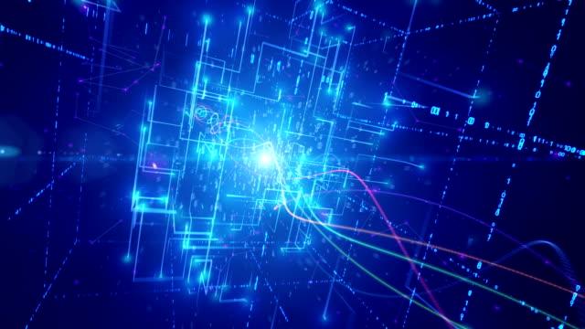 Abstract matrix source code video