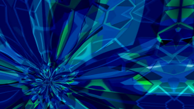 Abstract mesmerizing forms pulse, ripple and flow video
