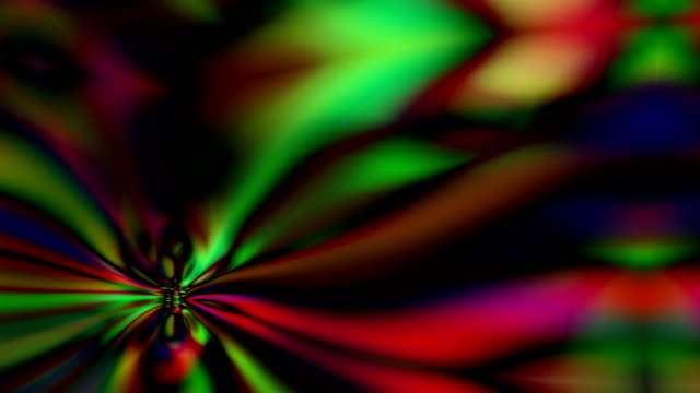 Abstract mesmerizing forms ripple and flow video