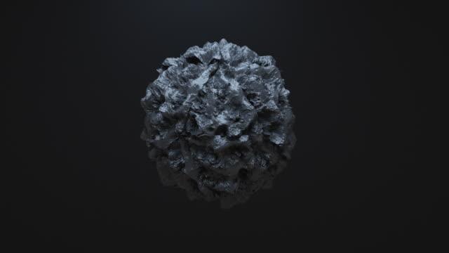 abstract morphing shape animation - morfing filmów i materiałów b-roll