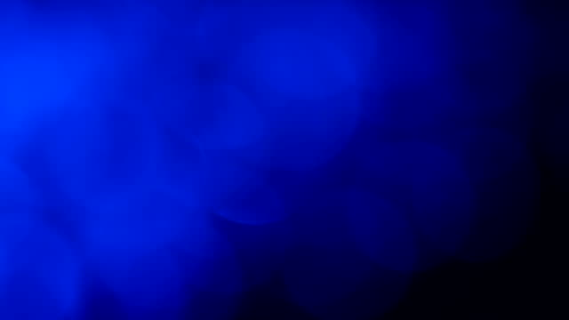 Abstract motion background, deep blue video