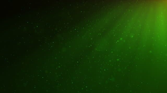 Abstract motion background of shining, sparkling, green particles. Beautiful green floating dust particles with shine light. Seamless Loopable 3D. 4K Animation Abstract motion background of shining, sparkling, green particles. Beautiful green floating dust particles with shine light. Seamless Loopable 3D. 4K Animation flare stack stock videos & royalty-free footage