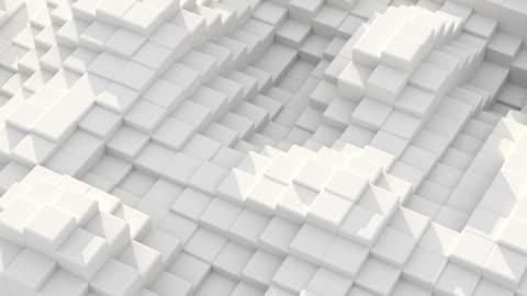 abstrakte bewegung hintergrundsäulen bewegen sich in wellen - konzepte stock-videos und b-roll-filmmaterial