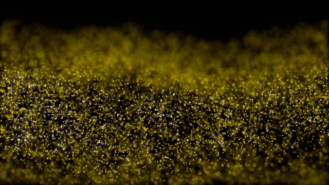 Abstract motion background shining gold particles stars sparks wave movement loop seamless 4k Abstract motion background shining gold particles stars sparks wave movement loop seamless 4k seamless pattern stock videos & royalty-free footage