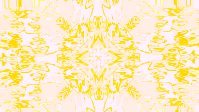 abstract motion background with crosses with shapes and movements with multiples changes in pastel colors  yellow and beige background video