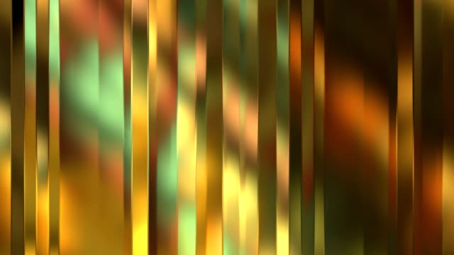 abstract motion gold waves vertical material flowing movement, golden metallic background, seamless