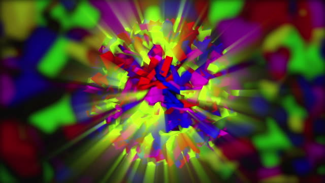 Abstract motley animation