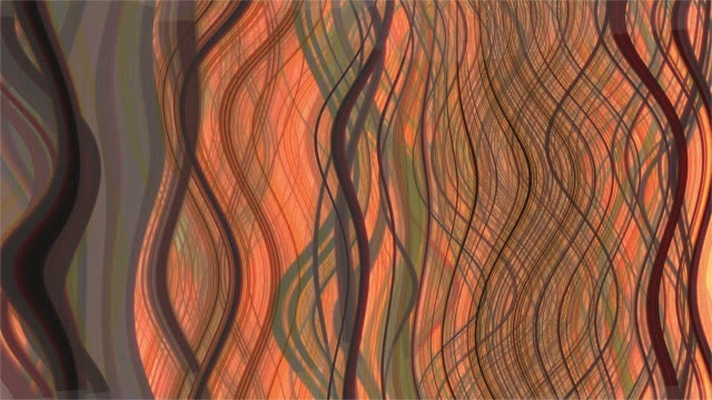 stockvideo's en b-roll-footage met abstract moving wavy curls - rizos ondulados en movimiento - curly brown hair